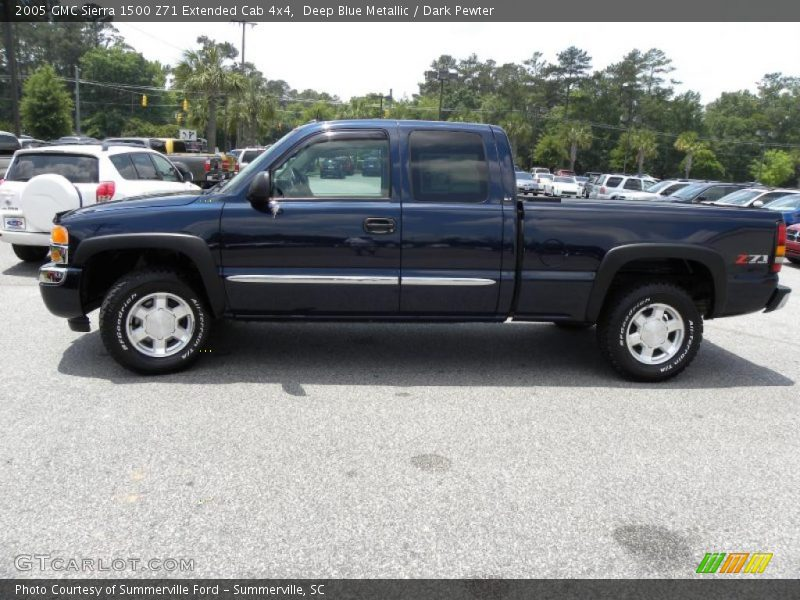 2005 gmc sierra 1500 z71 extended cab 4x4 in deep blue metallic photo no 30299223. Black Bedroom Furniture Sets. Home Design Ideas