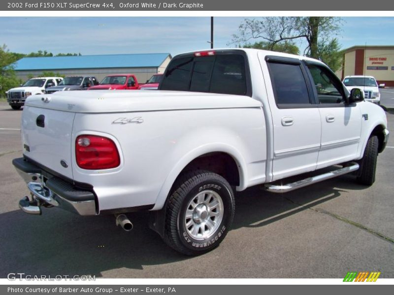 2002 ford f150 xlt supercrew 4x4 in oxford white photo no. Black Bedroom Furniture Sets. Home Design Ideas