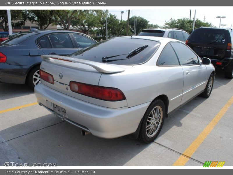 2000 acura integra ls coupe in vogue silver metallic photo. Black Bedroom Furniture Sets. Home Design Ideas