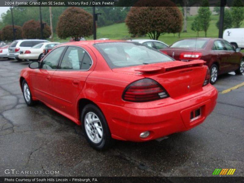 2004 pontiac grand am se sedan in victory red photo no 30427589. Black Bedroom Furniture Sets. Home Design Ideas