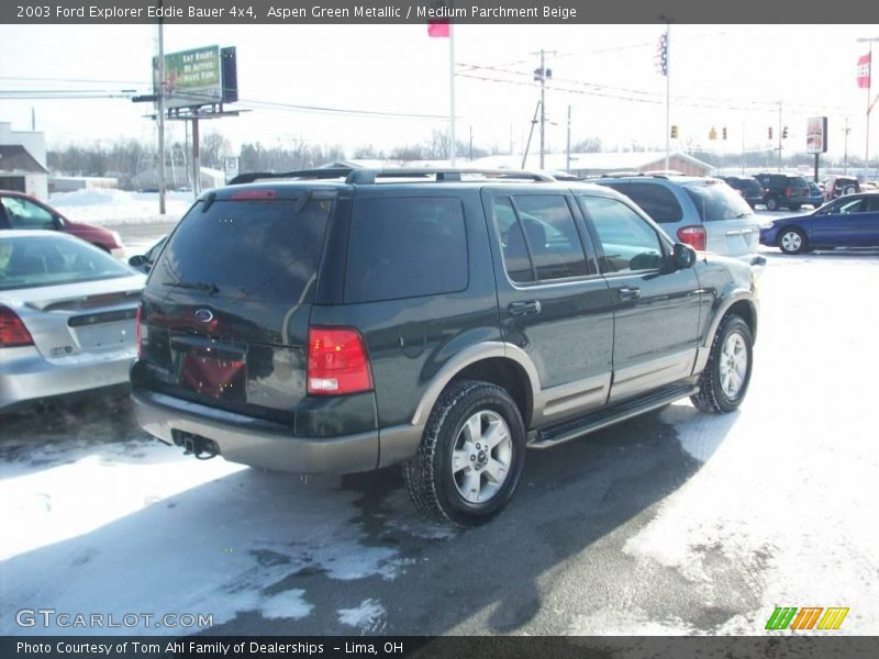 2003 ford explorer eddie bauer 4x4 in aspen green metallic photo no 3053851. Black Bedroom Furniture Sets. Home Design Ideas