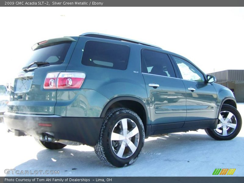 2009 gmc acadia slt 2 in silver green metallic photo no 3054906. Black Bedroom Furniture Sets. Home Design Ideas