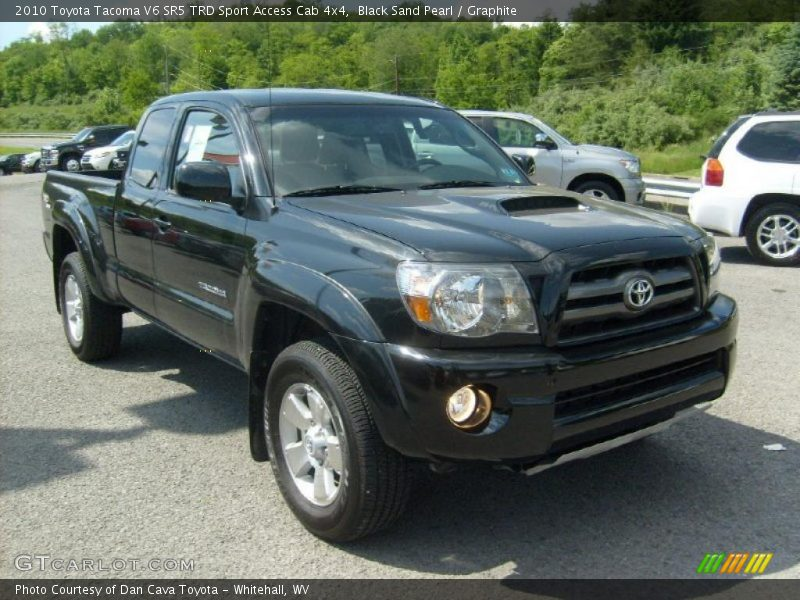 2010 toyota tacoma v6 sr5 trd sport access cab 4x4 in black sand pearl photo no 30609178. Black Bedroom Furniture Sets. Home Design Ideas