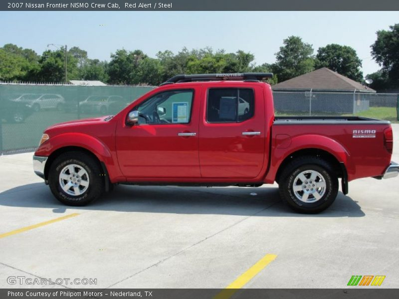 2007 nissan frontier nismo crew cab in red alert photo no 30619405. Black Bedroom Furniture Sets. Home Design Ideas