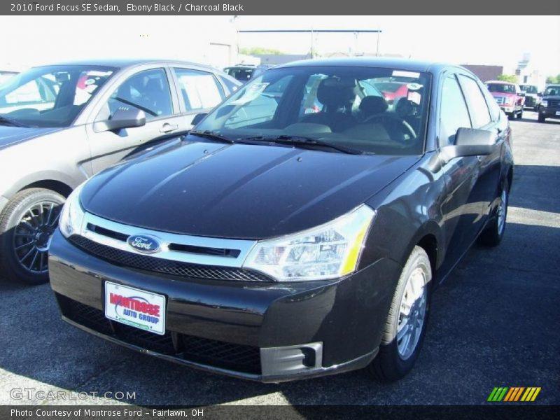 2010 ford focus se sedan in ebony black photo no 30650149. Black Bedroom Furniture Sets. Home Design Ideas