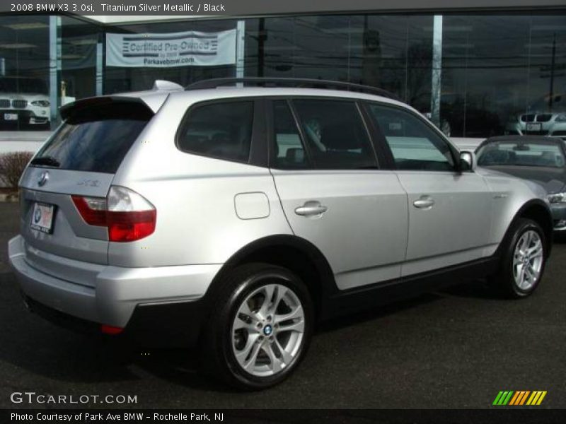 2008 bmw x3 in titanium silver metallic photo no. Black Bedroom Furniture Sets. Home Design Ideas