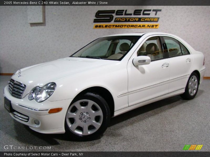 2005 mercedes benz c 240 4matic sedan in alabaster white for G stone motors used cars