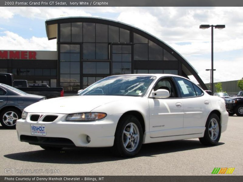 2003 pontiac grand prix gt sedan in ivory white photo no. Black Bedroom Furniture Sets. Home Design Ideas