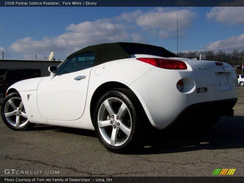 2008 Pontiac Solstice Roadster In Pure White Photo No 3104742 Gtcarlot Com