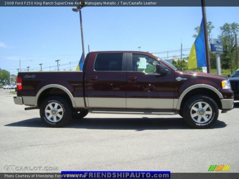 2008 ford f150 king ranch supercrew 4x4 in mahogany metallic photo no 31086615. Black Bedroom Furniture Sets. Home Design Ideas