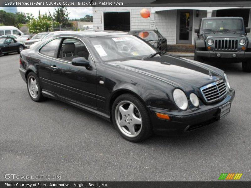 1999 mercedes benz clk 430 coupe in black opal metallic for Mercedes benz 430 clk