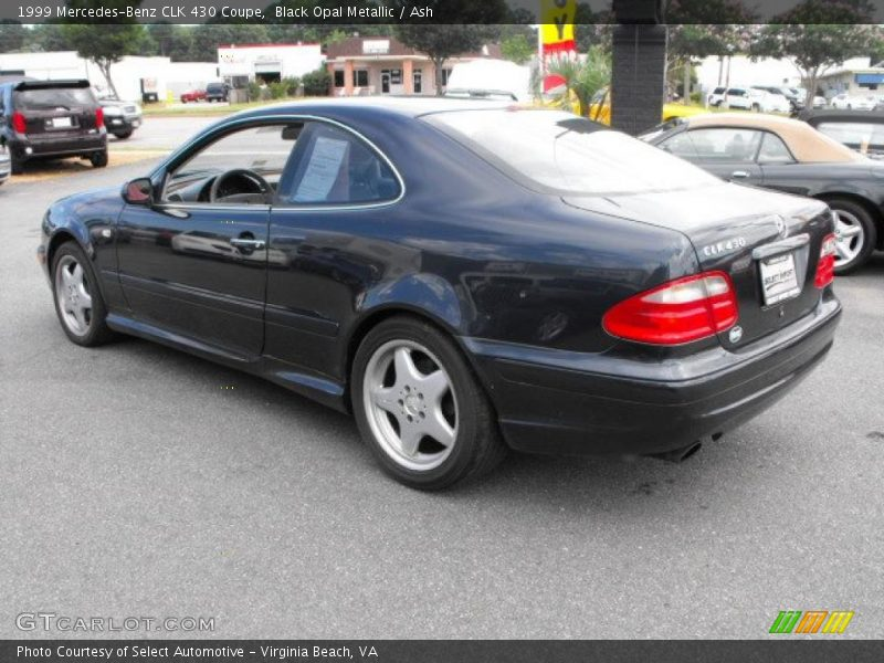 1999 mercedes benz clk 430 coupe in black opal metallic