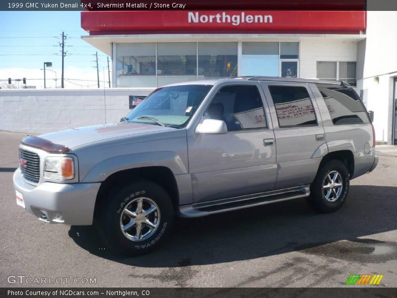 1999 gmc yukon denali 4x4 in silvermist metallic photo no for G stone motors used cars