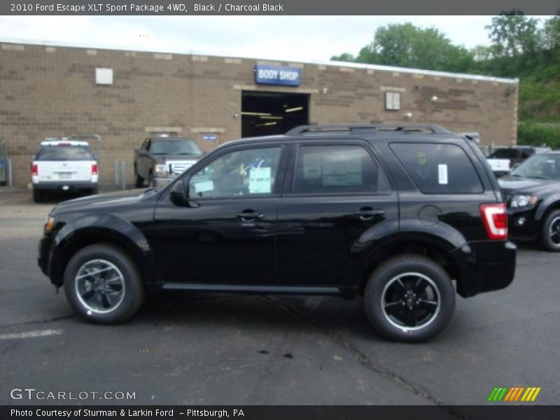 2010 ford escape xlt sport package 4wd in black photo no. Black Bedroom Furniture Sets. Home Design Ideas