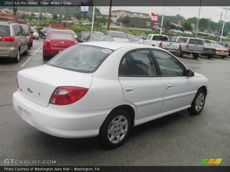2002 kia rio sedan in polar white photo no 31204877. Black Bedroom Furniture Sets. Home Design Ideas