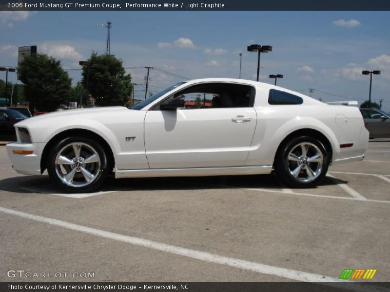 2006 ford mustang gt premium coupe in performance white. Black Bedroom Furniture Sets. Home Design Ideas
