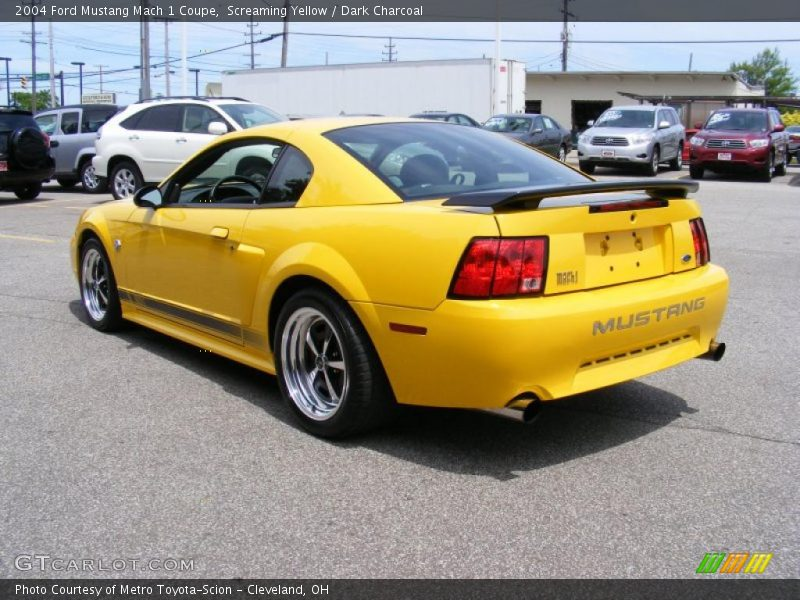 2004 ford mustang mach 1 coupe in screaming yellow photo no 31221881. Black Bedroom Furniture Sets. Home Design Ideas