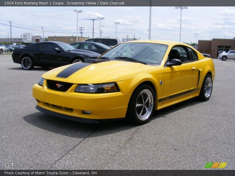 2004 ford mustang mach 1 coupe in screaming yellow photo no 31221905. Black Bedroom Furniture Sets. Home Design Ideas