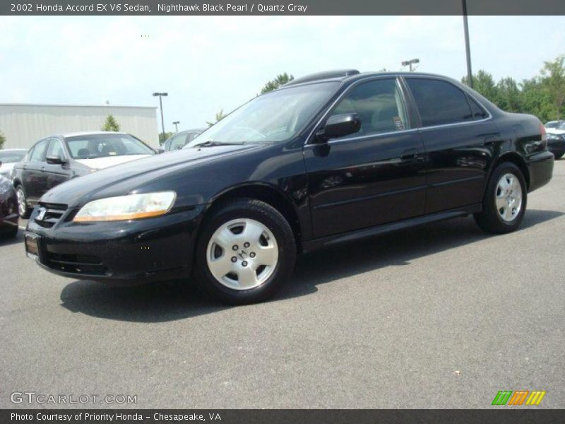 2002 honda accord ex v6 sedan in nighthawk black pearl photo no 31298739. Black Bedroom Furniture Sets. Home Design Ideas
