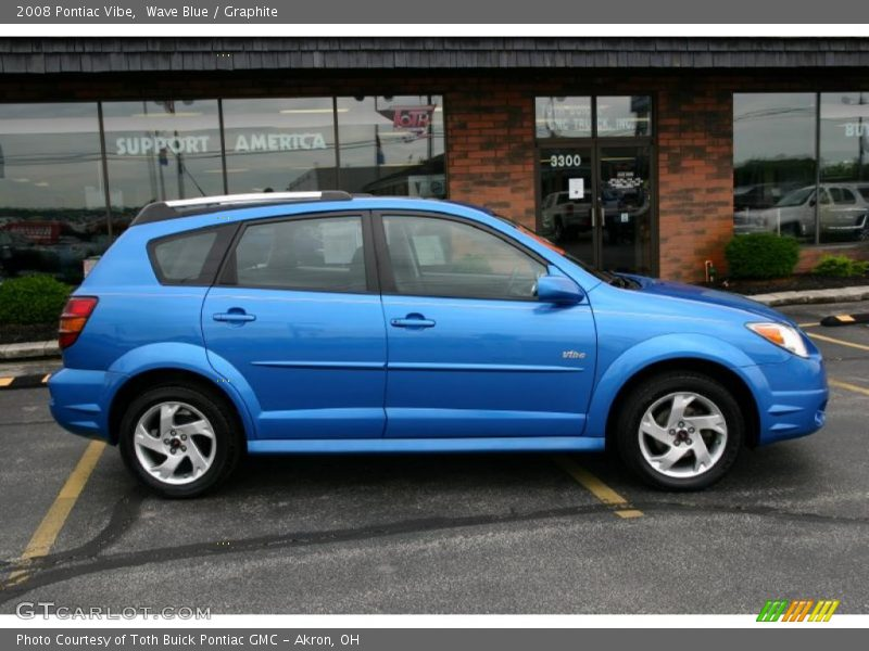 2008 Pontiac Vibe In Wave Blue Photo No 31362736