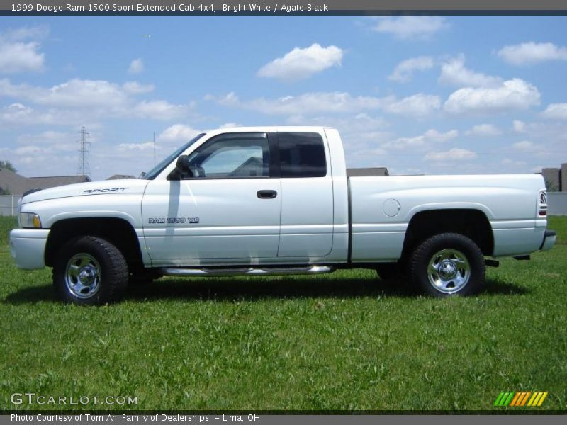 1999 dodge ram 1500 sport extended cab 4x4 in bright white photo no 31408239. Black Bedroom Furniture Sets. Home Design Ideas