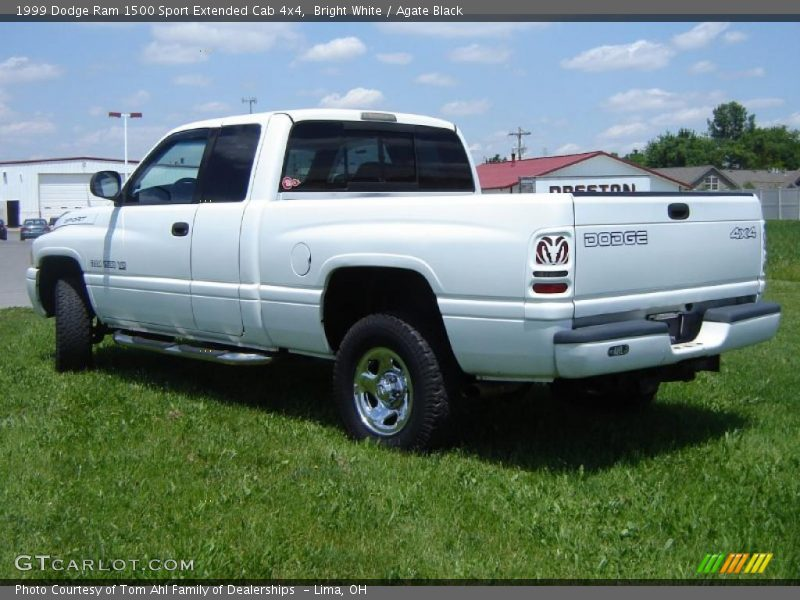 1999 dodge ram 1500 sport extended cab 4x4 in bright white photo no 31408249. Black Bedroom Furniture Sets. Home Design Ideas