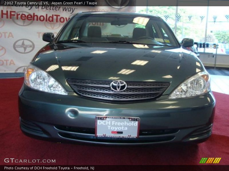 2002 toyota camry le v6 in aspen green pearl photo no 31523304. Black Bedroom Furniture Sets. Home Design Ideas