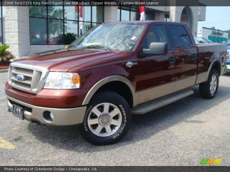2006 ford f150 king ranch supercrew 4x4 in dark copper metallic photo no 31568338. Black Bedroom Furniture Sets. Home Design Ideas