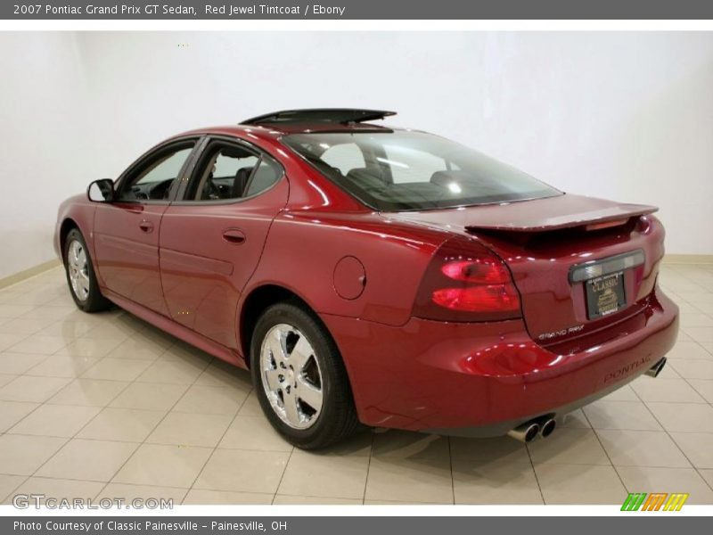 2007 pontiac grand prix gt sedan in red jewel tintcoat photo no 31759240. Black Bedroom Furniture Sets. Home Design Ideas