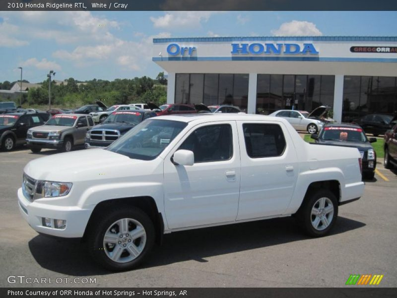 Softopper 2010 Honda Ridgeline RTL in White Photo No. 31816333 | GTCarLot.com