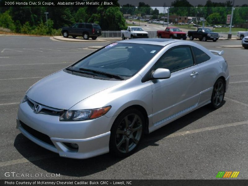 2006 honda civic si coupe in alabaster silver metallic. Black Bedroom Furniture Sets. Home Design Ideas