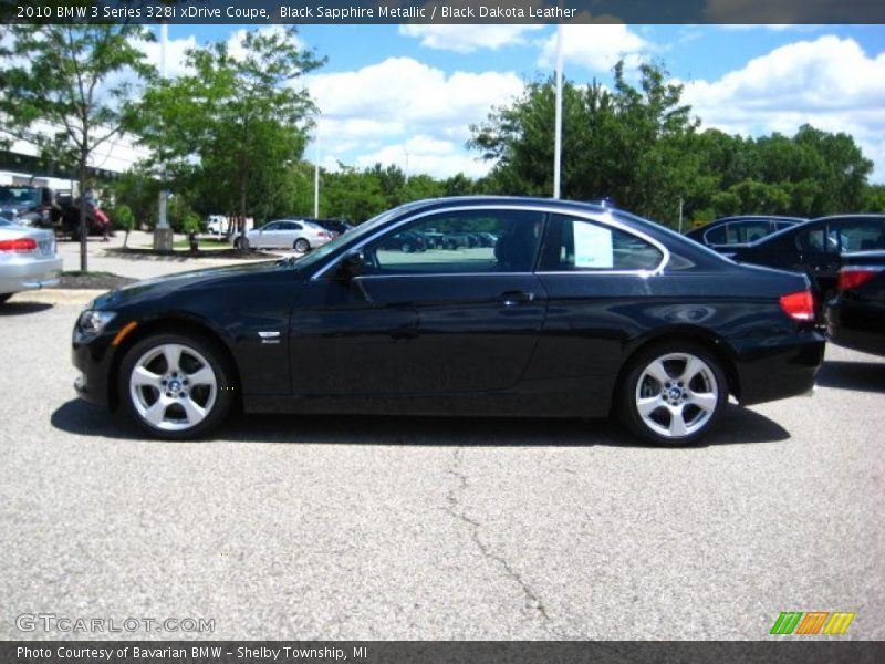 2010 bmw 3 series 328i xdrive coupe in black sapphire. Black Bedroom Furniture Sets. Home Design Ideas