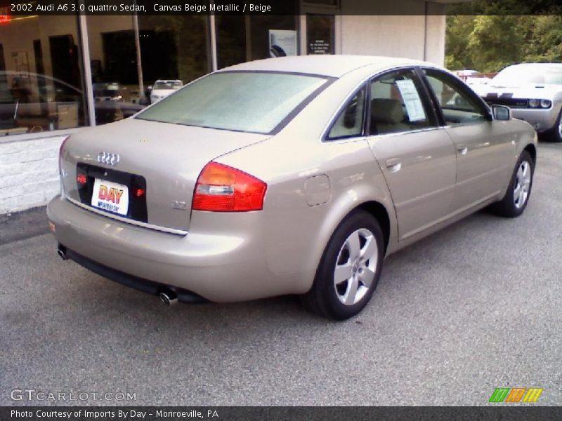 2002 audi a6 3 0 quattro sedan in canvas beige metallic photo no 31965262. Black Bedroom Furniture Sets. Home Design Ideas