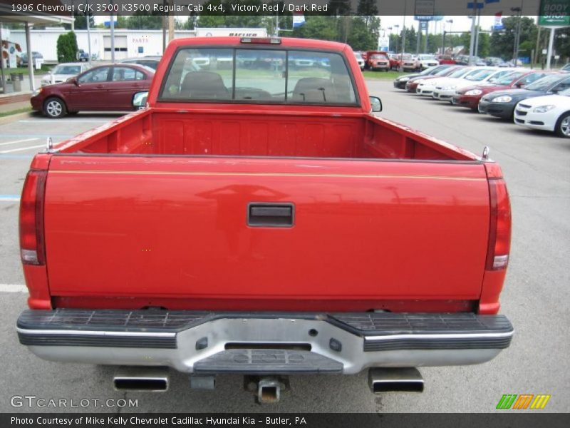 1996 chevrolet c k 3500 k3500 regular cab 4x4 in victory red photo no 32052694. Black Bedroom Furniture Sets. Home Design Ideas