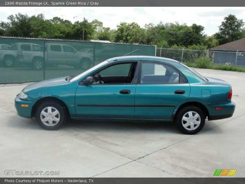 World Car Mazda >> 1996 Mazda Protege LX in Sparkle Green Mica Photo No ...