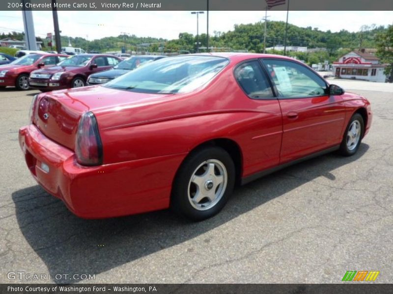 2004 chevrolet monte carlo ls in victory red photo no 32202379. Black Bedroom Furniture Sets. Home Design Ideas