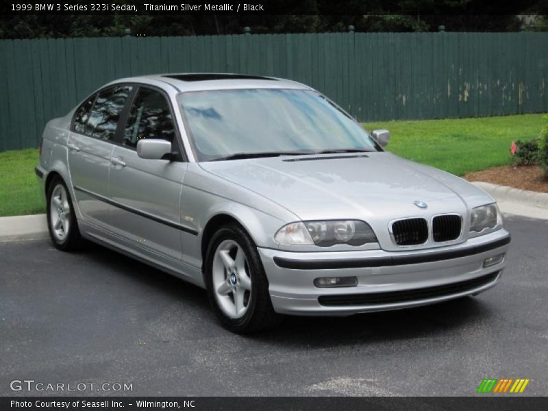 1999 bmw 3 series 323i sedan in titanium silver metallic. Black Bedroom Furniture Sets. Home Design Ideas