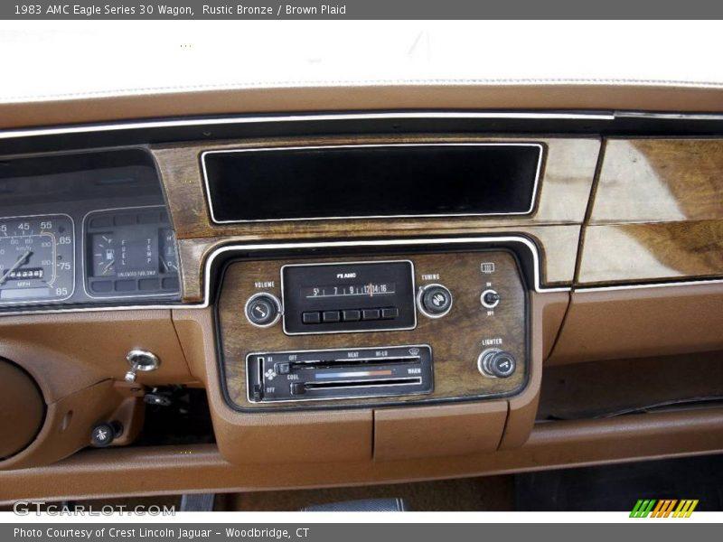 Controls of 1983 Eagle Series 30 Wagon