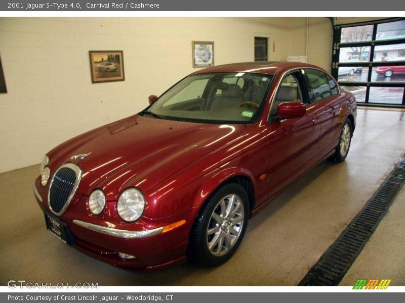 2001 jaguar s type 4 0 in carnival red photo no 3248349. Black Bedroom Furniture Sets. Home Design Ideas