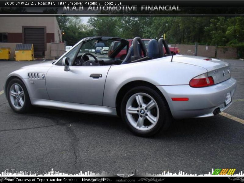 2000 bmw z3 2 3 roadster in titanium silver metallic photo. Black Bedroom Furniture Sets. Home Design Ideas
