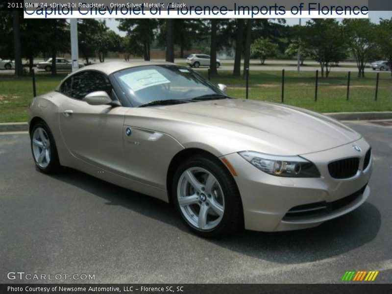 2011 Bmw Z4 Sdrive30i Roadster In Orion Silver Metallic
