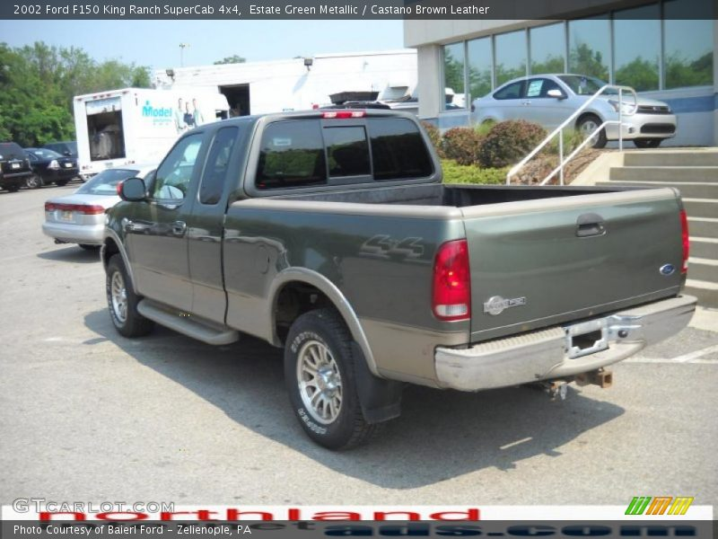 2002 ford f150 king ranch supercab 4x4 in estate green metallic photo no 32749846. Black Bedroom Furniture Sets. Home Design Ideas