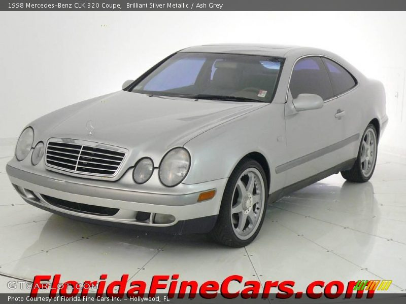 1998 mercedes benz clk 320 coupe in brilliant silver for 1998 mercedes benz clk 320