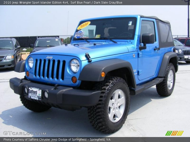 2010 jeep wrangler sport islander edition 4x4 in surf blue. Black Bedroom Furniture Sets. Home Design Ideas