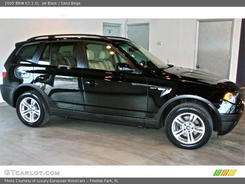 Bmw 2005 Black 2005 BMW X3 3.0i in Je...