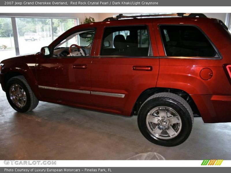 2007 jeep grand cherokee overland in red rock crystal. Black Bedroom Furniture Sets. Home Design Ideas