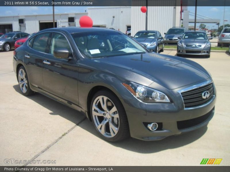2011 infiniti m 56 s sedan in storm front gray photo no for G stone motors used cars