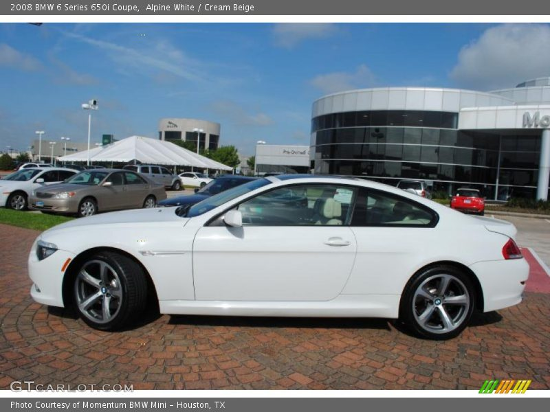 2008 bmw 6 series 650i coupe in alpine white photo no. Black Bedroom Furniture Sets. Home Design Ideas