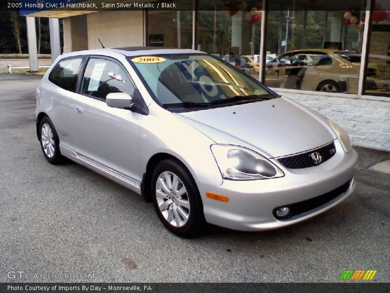 2005 honda civic si hatchback in satin silver metallic. Black Bedroom Furniture Sets. Home Design Ideas