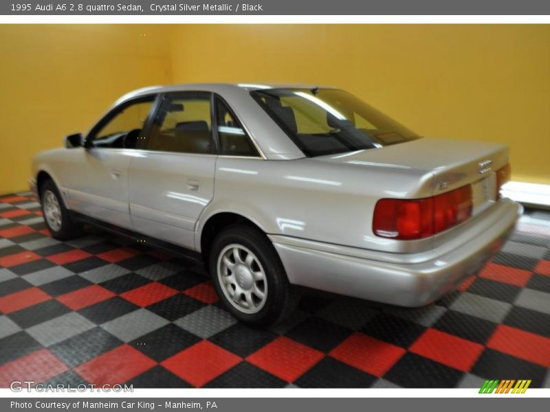 1995 Audi A6 2.8 quattro Sedan in Crystal Silver Metallic Photo No ...